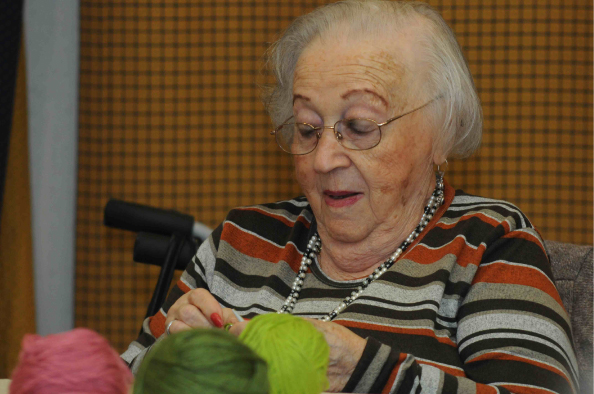 Solidarity Knitting Meeting