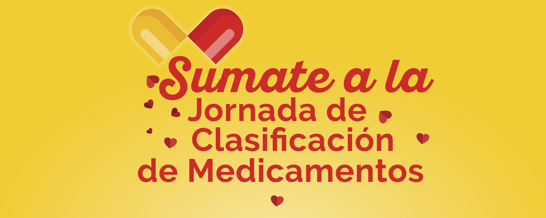 Jornada de clasificación de medicamentos