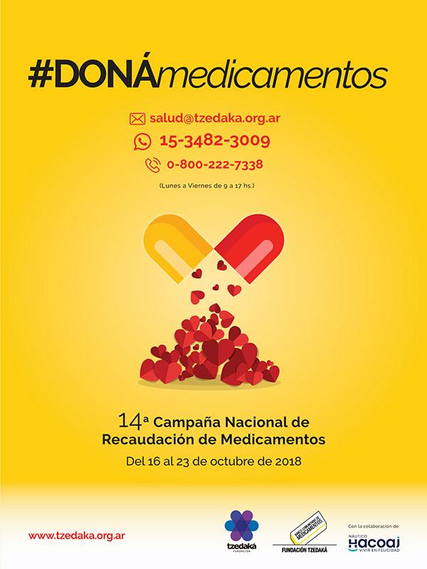 14° Campaña Nacional de Recaudación de Medicamentos