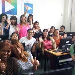 La ministra Tagliaferri en el programa de Acción Joven