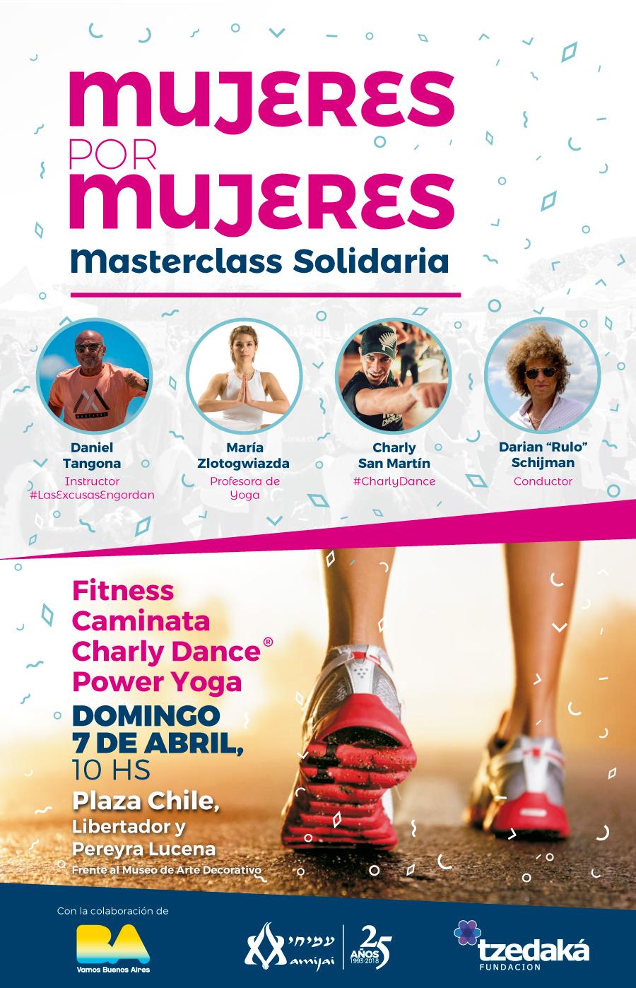 Masterclass Solidaria Mujeres Por Mujeres